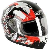 SUPER SALE Nitro Helmet Red L
