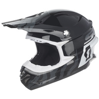 SCOTT Sport Helmet 350 Pro Race Black/White