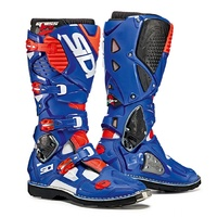 Crossfire 3 Boot White Blue Red Fluro