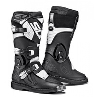 SIDI Flame Youth Boot Black White