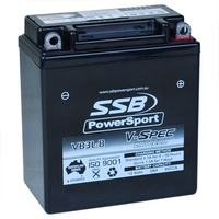 12V SSB V-Spec High Perform. AGM Battery (12) (CB3L-A, CB3L-B, GB3L-B, YTX3L-BS)