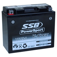 12V SSB V-Spec High Perform. AGM Battery (6) (GT12B-4, YT12B-4, YT12B-4-BS)
