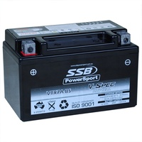 12V SSB V-Spec High Perform. AGM Battery (6) (YTX7A-BS)