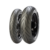 Pirelli Rosso III Combo Motorcycle Front Tyre 120/70- 17 & Rear Tyre 160/60- 17