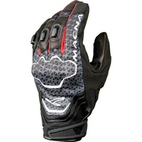 Macna Assault Motorcycle Gloves - Black/Grey/Red