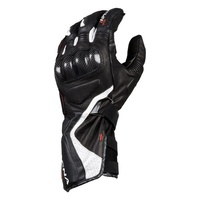 Macna Apex Motorcycle Gloves - Black/White
