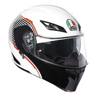 AGV Helmet Compact ST Verm White/Black/Red