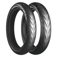 110/70H17 & 140/70H17 BT39 Tyres Combo.