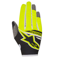 2018 Alpinestars Radar Flight Glove Black/Flo Yellow