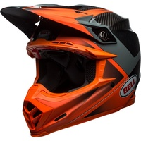 2018 Bell Moto-9 Flex Hound Gloss/Matte Orange/Charcoal