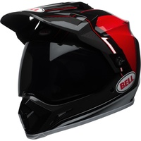 2018 Bell MX-9 Adventure with MIPS Berm Gloss Black/Red/White