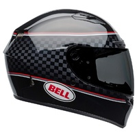 Bell Qualifier Dlx Mips Motorcycle Helmet Bread Winner Black/White