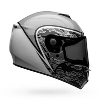 New Bell SRT Motorcycle Helmet Assassin Grey/White/Camo Size-3XL