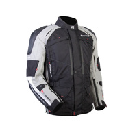 MotoDry Advent-Tour Motorcycle Jacket - Black/Grey