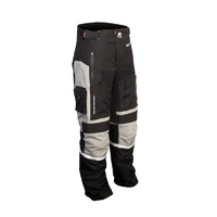 MotoDry Advent-Tour Motorcycle Pants - Black/Grey