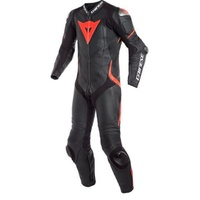Dainese Laguna Seca 4 1 Piece Perforated Leather Suit Black/Red size:Euro 54