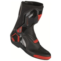 Dainese Course D1 Out  Motorcycle Boots - Black/Fluro Red size:46