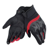 Dainese Air Frame Unisex Motorcycle Gloves - Black/Red size:Large