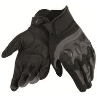 Dainese Air Frame Unisex Motorcycle Gloves - Black/Black size:Large