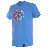 Dainese Moto72 Motorcycle T-Shirt - Blue/Aster size:Medium