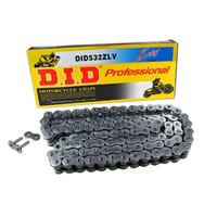 DID 630 FJ Street Road Classic Chain O-Ring, Clip Link Type