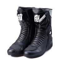 Fusport Explorer Motorcycle Touring Boot Black