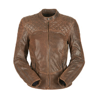 Furygan Legend Lady Motorcycle Jacket Rusted Brown