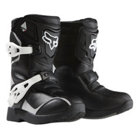 Fox MX Kids Peewee Boots Comp 5 - Black / Silver