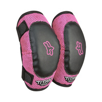 2018 Fox Kids Titan Elbow Guard Black/Pink