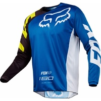2018 Fox Mens MX 180 Race Jersey Blue