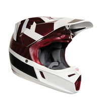 FOX V3 PREEST HELMET ECE 2018 Dark Red