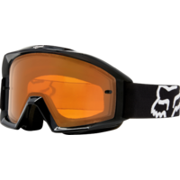 2018 Fox Main Enduro Mens Goggle Matte Black/Orange Lens