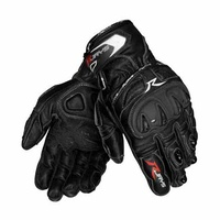 New Rjays Canyon Men's Leather Gloves -Black/White