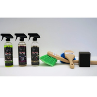 JAY LENOS GARAGE Total Wheel & Tire Cleaning Combo Kit