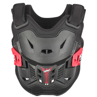 Leatt 2.5 Kids Junior Chest Protector - Black/Red