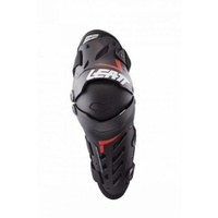 Leatt Dual Axis Knee & Shin Guard - Black/Red
