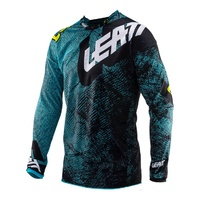 Leatt GPX 4.5 Lite Motorcycle Jersey -Tech Blue
