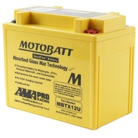 New Motobatt Quadflex 12V Battery For Kymco 250 MONGOOSE 2004 - 2008
