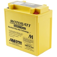 New Motobatt Quadflex 12V Battery For Triumph TIGER 800XCA 2015-19