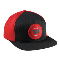 Thor Crew Snapback Hat - Archie Black/Red