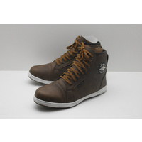 MotoDry Urban Leather Motorcycle Boots - Brown