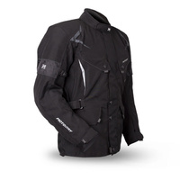Motodry Thermo Mens Black Motorcycle Jacket