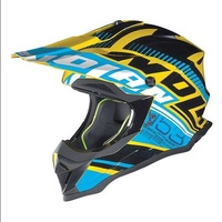 N-53 PEAK FLAXY BLUE/YELLOW 2 Helmet