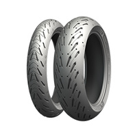 Michelin Road 5 Motorcycle Combo Front Tyre 120/70- 17 & Rear Tyre 190/55- 17