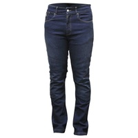 New RJays Motorcycle Ladies Reinforced Stretch Jeans - Blue