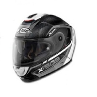 X-903 Ultra Carbon CAVALCADE Carbon/Grey/White Helmet 11