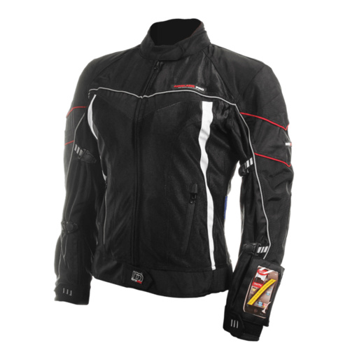MotoDry Air Blade Pro Ladies Jacket [Colour: black,size: 10]