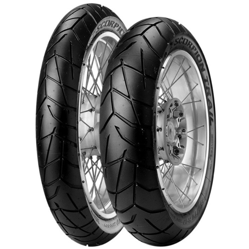 Pirelli Scorpion Trail - Rear Tyre [Tyre- Size: 150/70- R18]